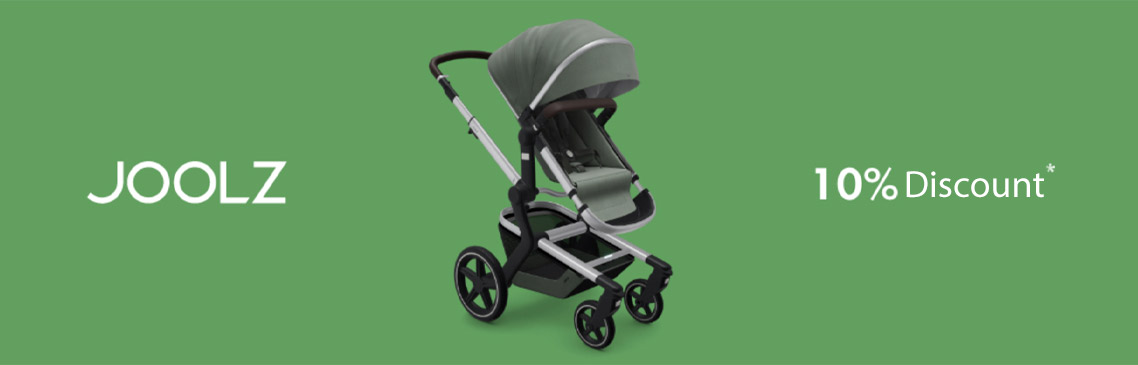 10% on all strollers, buggies and accessories! *