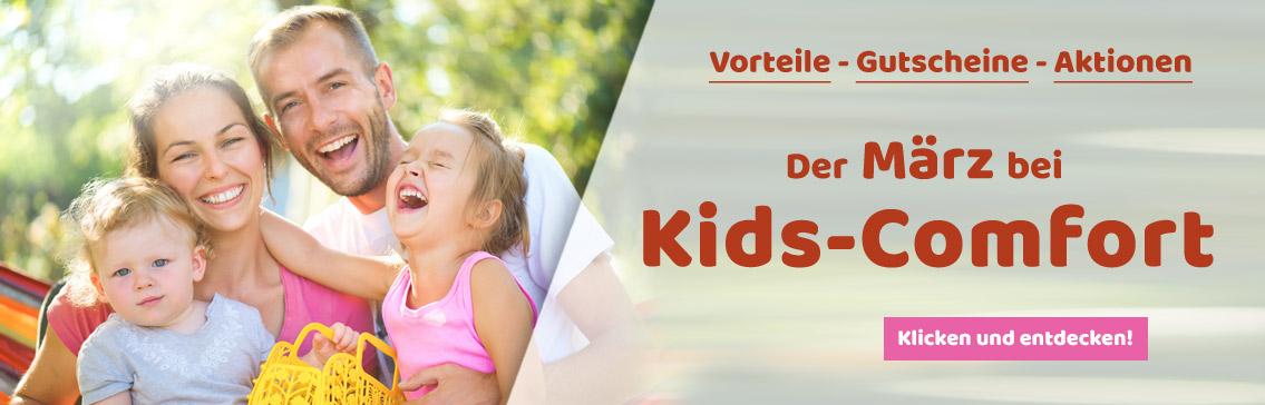 Aktiongsgutscheine bei Kids-Comfort