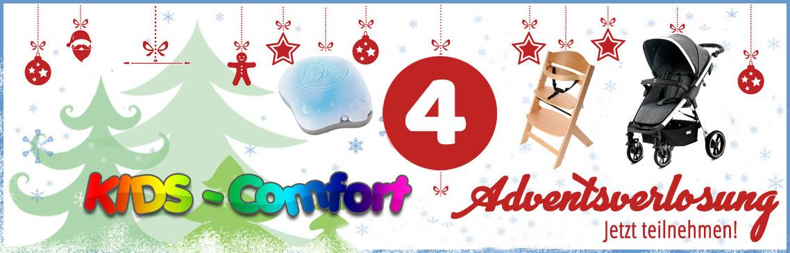 Die Kids-Comfort Adventsverlosung | Gewinnen Sie in allen Adventswochen tolle Preise!