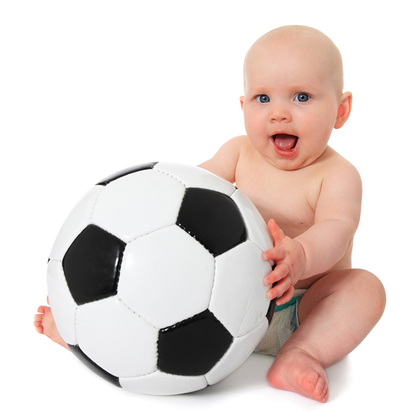 The big football world for babies!
