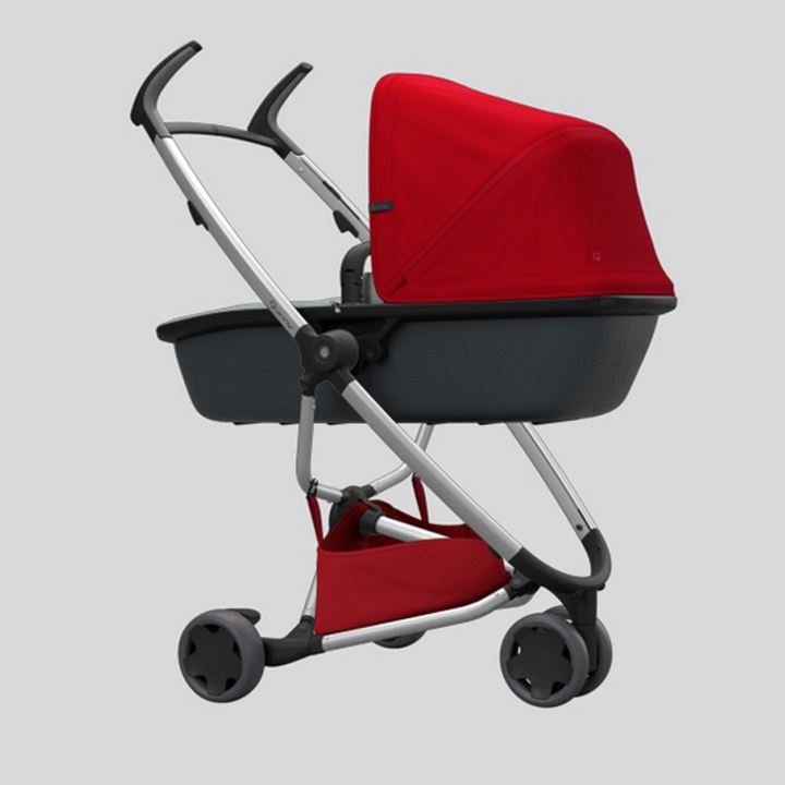 Quinny Zapp Xpress mit Zapp Lux Kinderwagenaufsatz