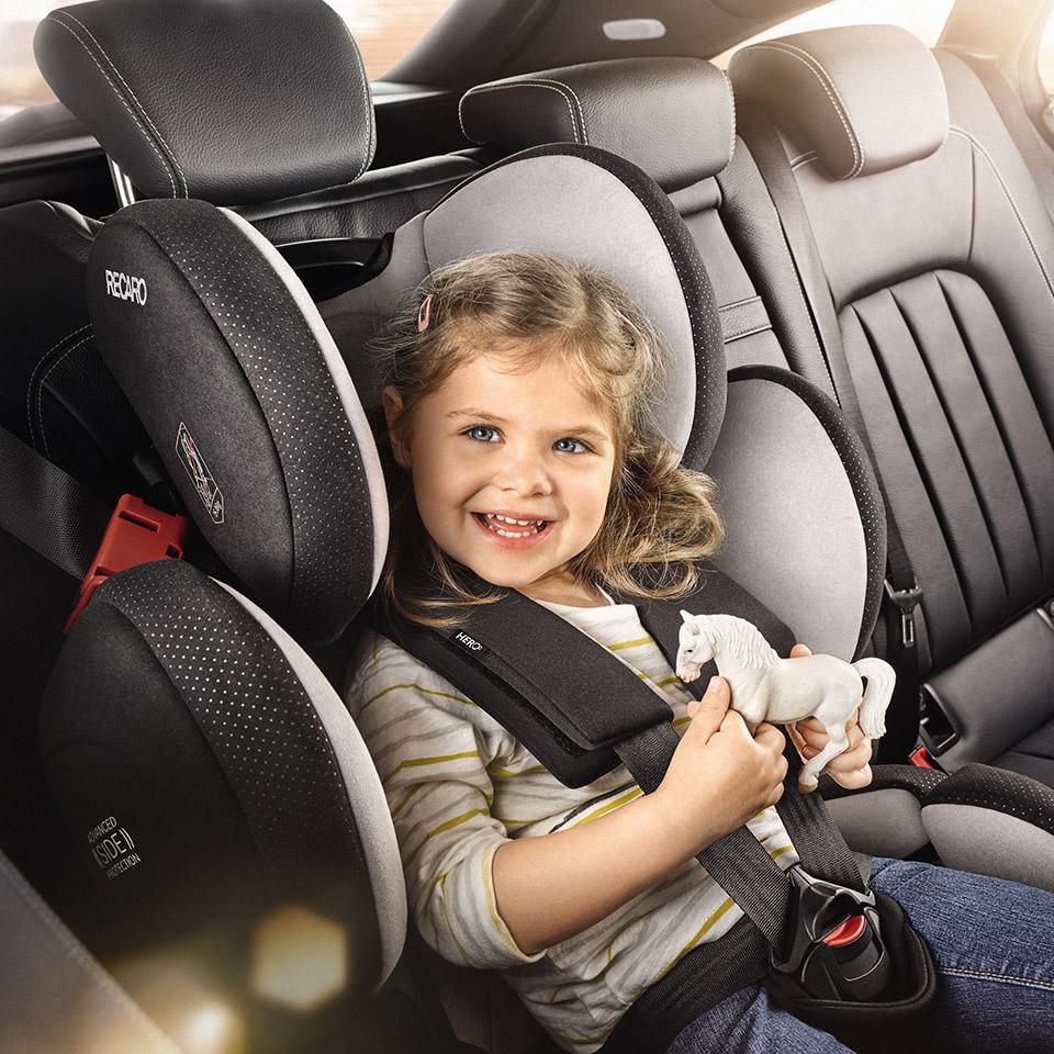 child seat Gr. 1-2-3