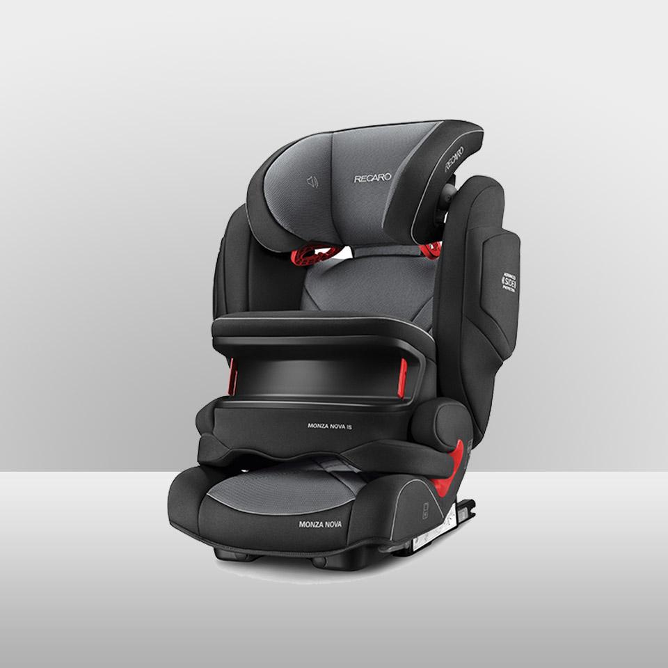 Kindersitz Gr. 1-2-3
