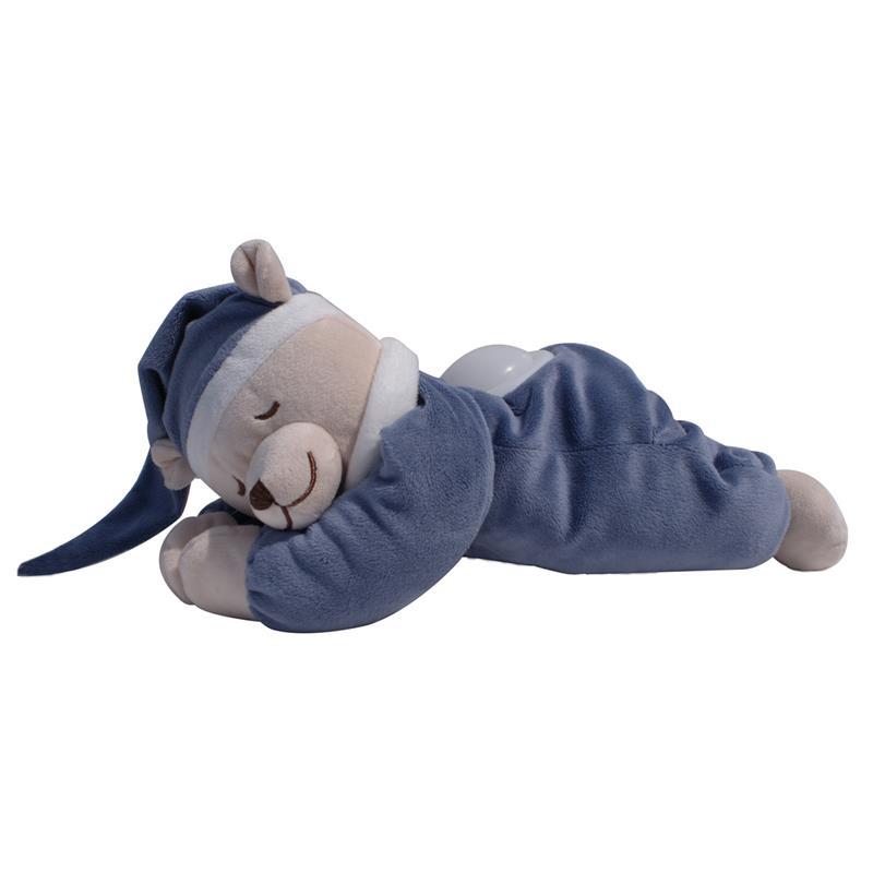 babiage doodoo b r mit nachtlicht einschlafhilfe f r babys dunkel blau ebay. Black Bedroom Furniture Sets. Home Design Ideas