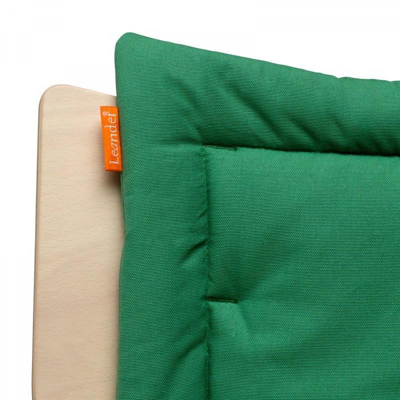 Leander coussin de si ge pour chaise haute b b cactus ebay for Coussin pour chaise haute bebe