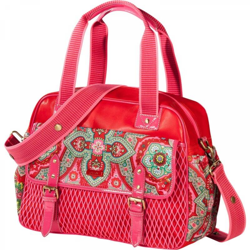 oilily universal tasche wickeltasche rot ebay. Black Bedroom Furniture Sets. Home Design Ideas
