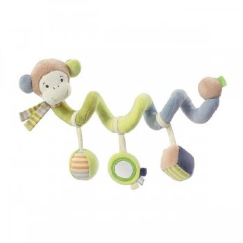 Baby Fehn Activity Spirale Affe NEU #11237