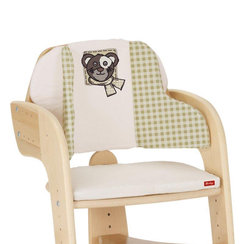 Herlag garniture de si ge pour chaise haute b b tip top confort iv ebay - Siege bebe adaptable chaise ...