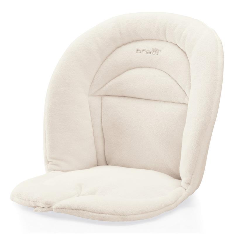 brevi accessoire slex evo coussin r ducteur pour si ge chaise haute b b coton ebay. Black Bedroom Furniture Sets. Home Design Ideas