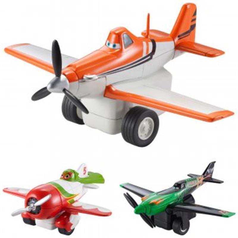 Disney Cars Planes R Ckzieh Action Flieger Sortiment X9497
