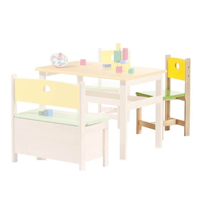 Geuther Kinder-Stuhl Pepino 2450 Farbe Bunt Natur NEU