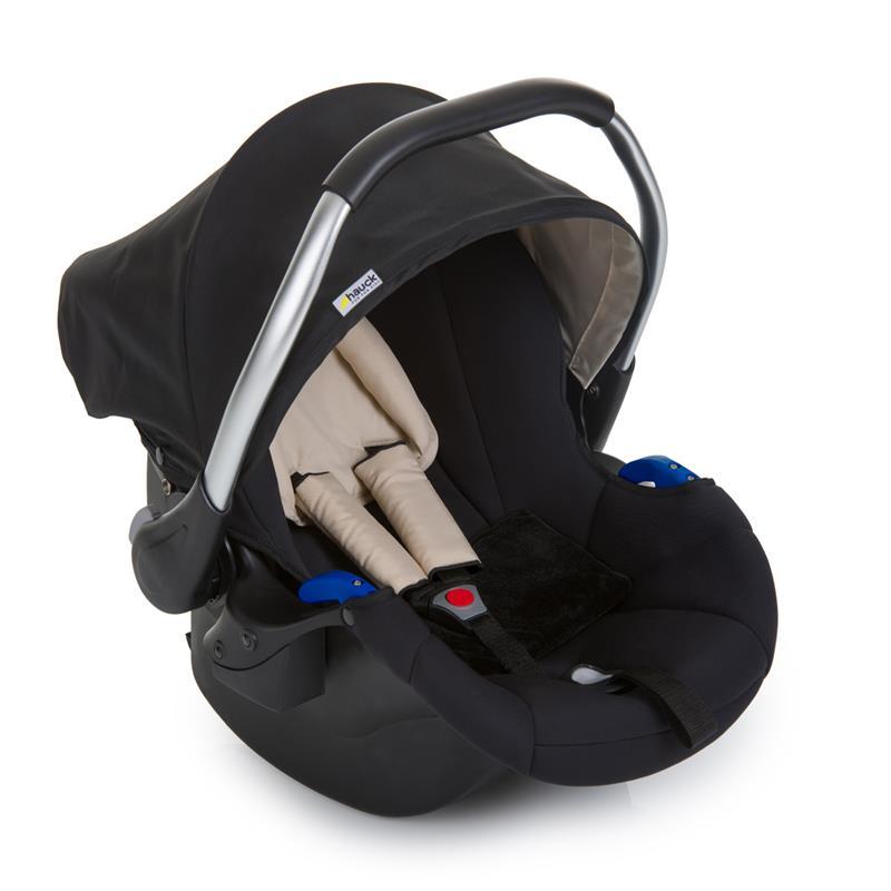 hauck comfort fix set mit babyschale isofix basis schwarz ebay. Black Bedroom Furniture Sets. Home Design Ideas