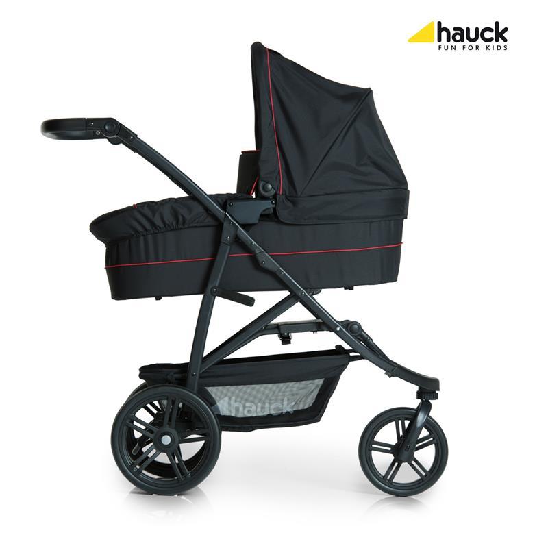 hauck rapid 3 plus trioset kinderwagen mit tragewanne babyschale neu ebay. Black Bedroom Furniture Sets. Home Design Ideas