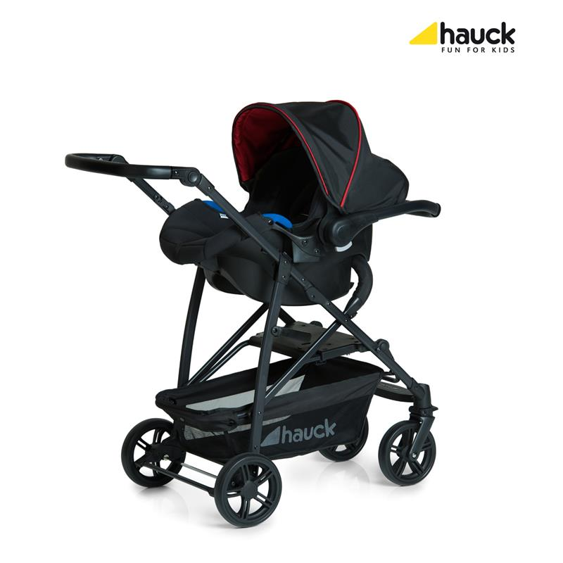 hauck rapid 4 plus trioset kinderwagen mit tragewanne babyschale farbwahl ebay. Black Bedroom Furniture Sets. Home Design Ideas