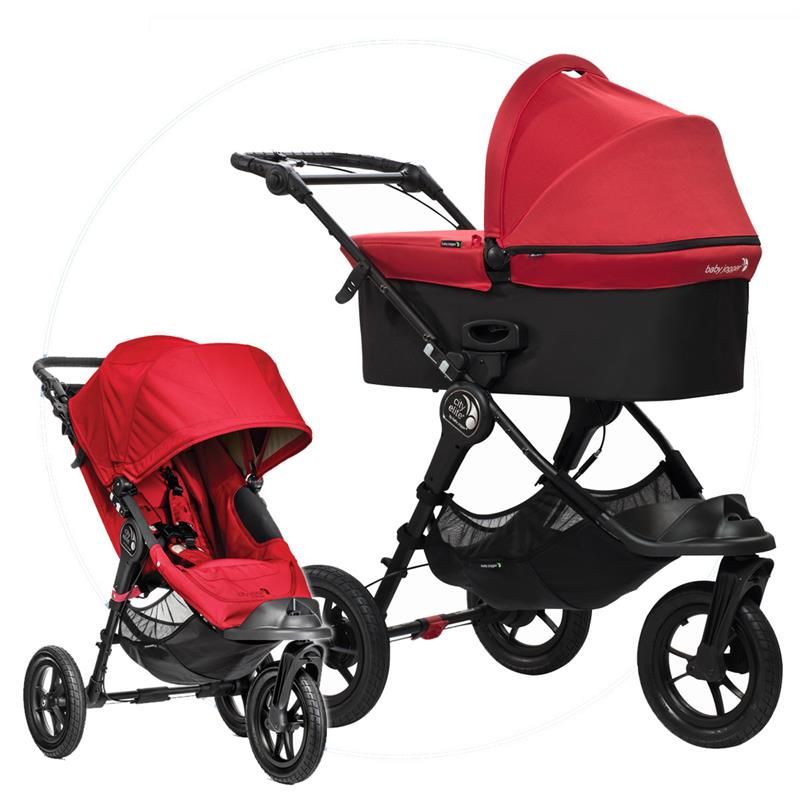 baby jogger city elite combination pram incl deluxe tub. Black Bedroom Furniture Sets. Home Design Ideas