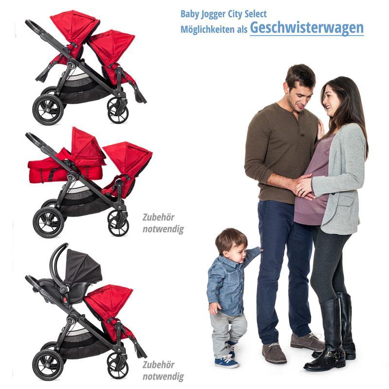 baby jogger geschwisterwagen