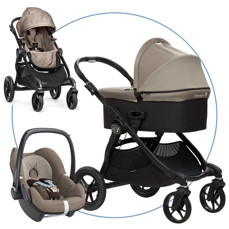 baby jogger city select trio set sand inkl maxi cosi pebble earth brown neu ebay. Black Bedroom Furniture Sets. Home Design Ideas