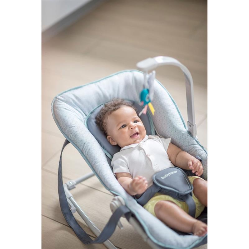 babymoov graphic baby wippe blau ebay. Black Bedroom Furniture Sets. Home Design Ideas