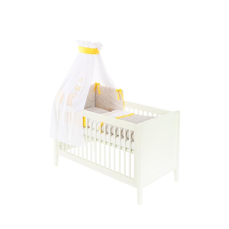 tr umeland 3tlg bett set mit himmel nestchen und bettw sche schaukelpferd oran ebay. Black Bedroom Furniture Sets. Home Design Ideas