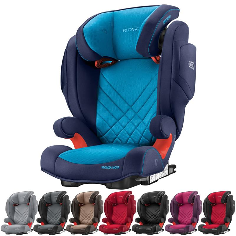 recaro kindersitz monza nova 2 seatfix farbwahl neu ebay. Black Bedroom Furniture Sets. Home Design Ideas