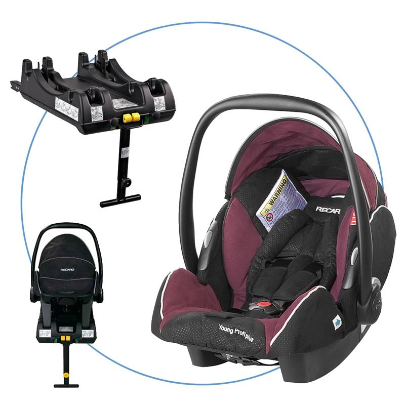 Recaro Young Profi Plus Anleitung: Recaro Young Profi Plus Babyschale 0+ Mit Isofix Basis