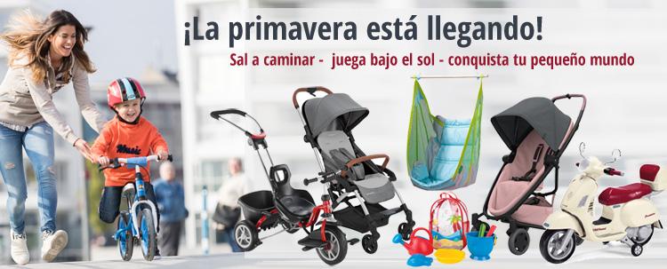 ¡La primavera viene! ¡Sal afuera! Descubra productos para bebés y juguetes para niños en Spring KidsComfort.eu