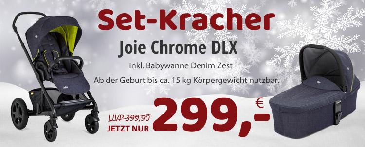 Joie Chrome DLX inkl. Wanne NUR 299,- EUR!
